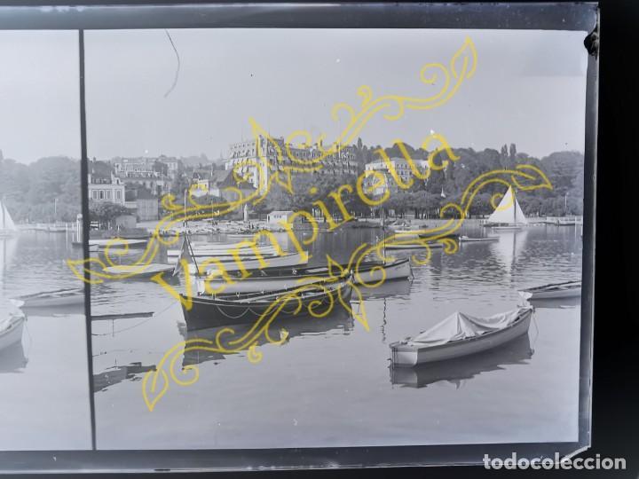 Fotografía antigua: Lote negativos estereoscópicos de cristal. Rosas. Cadaqués Costa Brava.. Circa 1900-30 - Foto 18 - 195126475