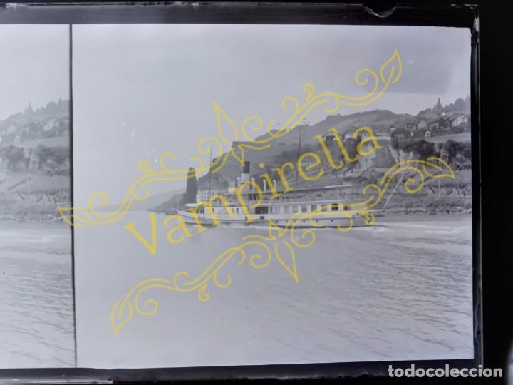 Fotografía antigua: Lote negativos estereoscópicos de cristal. Rosas. Cadaqués Costa Brava.. Circa 1900-30 - Foto 21 - 195126475