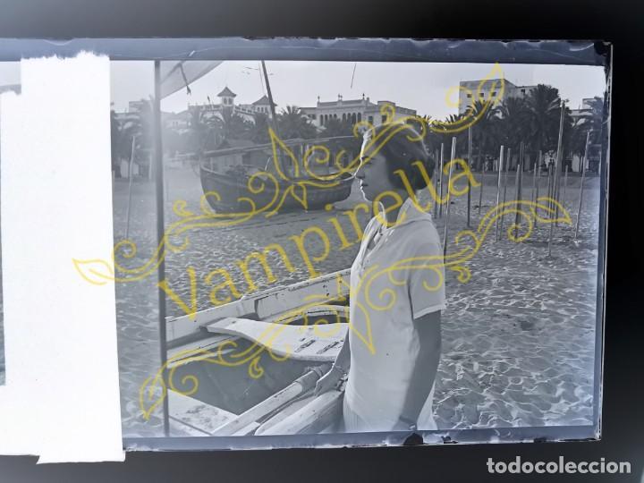 Fotografía antigua: Lote negativos estereoscópicos de cristal. Rosas. Cadaqués Costa Brava.. Circa 1900-30 - Foto 22 - 195126475