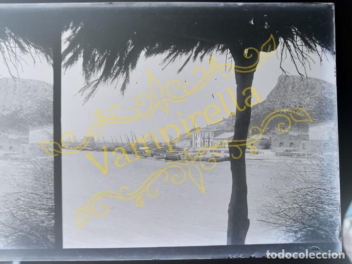 Fotografía antigua: Lote negativos estereoscópicos de cristal. Rosas. Cadaqués Costa Brava.. Circa 1900-30 - Foto 23 - 195126475