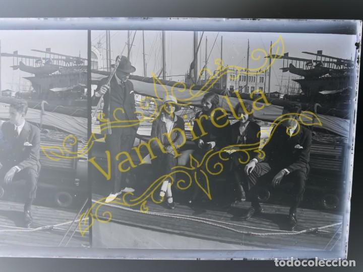 Fotografía antigua: Lote negativos estereoscópicos de cristal. Rosas. Cadaqués Costa Brava.. Circa 1900-30 - Foto 24 - 195126475