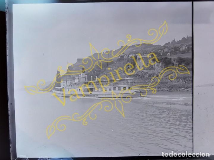 Fotografía antigua: Lote negativos estereoscópicos de cristal. Rosas. Cadaqués Costa Brava.. Circa 1900-30 - Foto 26 - 195126475