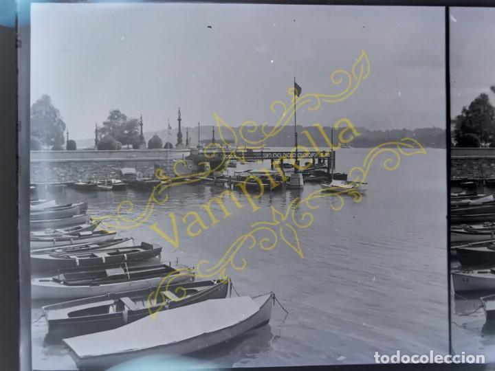 Fotografía antigua: Lote negativos estereoscópicos de cristal. Rosas. Cadaqués Costa Brava.. Circa 1900-30 - Foto 29 - 195126475
