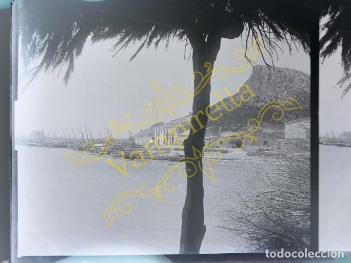 Fotografía antigua: Lote negativos estereoscópicos de cristal. Rosas. Cadaqués Costa Brava.. Circa 1900-30 - Foto 30 - 195126475