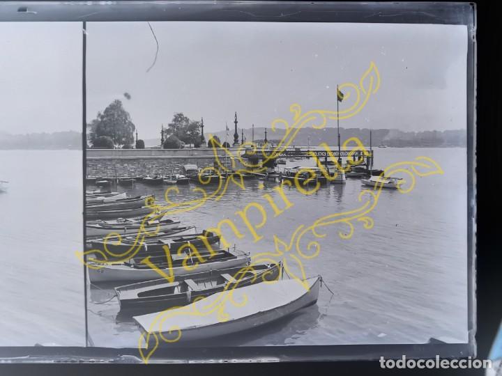 Fotografía antigua: Lote negativos estereoscópicos de cristal. Rosas. Cadaqués Costa Brava.. Circa 1900-30 - Foto 31 - 195126475