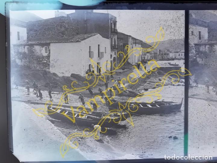 Fotografía antigua: Lote negativos estereoscópicos de cristal. Rosas. Cadaqués Costa Brava.. Circa 1900-30 - Foto 32 - 195126475