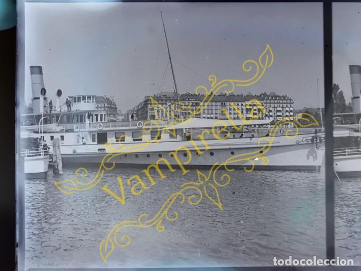 Fotografía antigua: Lote negativos estereoscópicos de cristal. Rosas. Cadaqués Costa Brava.. Circa 1900-30 - Foto 33 - 195126475