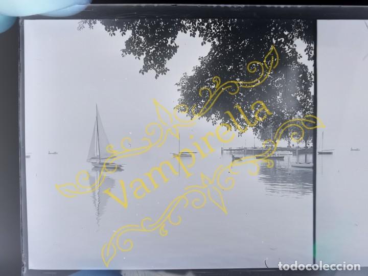 Fotografía antigua: Lote negativos estereoscópicos de cristal. Rosas. Cadaqués Costa Brava.. Circa 1900-30 - Foto 35 - 195126475