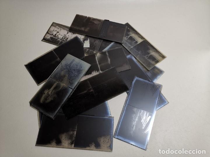 Fotografía antigua: Lote negativos estereoscópicos de cristal. Rosas. Cadaqués Costa Brava.. Circa 1900-30 - Foto 38 - 195126475