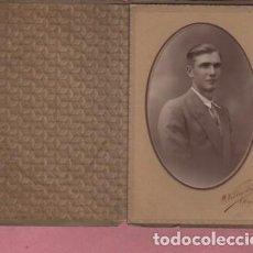 Fotografía antigua: VIEJA FOTO O FOTOGRAFIA DIPTICA DEL FOTOGRAFO DE MANRESA M VILLAPLANA. Lote 195202207