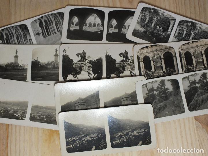 FOTOGRAFÍAS ESTEREOSCÓPICAS - ESPAÑA - 10 UNIDADES (Fotografía Antigua - Estereoscópicas)