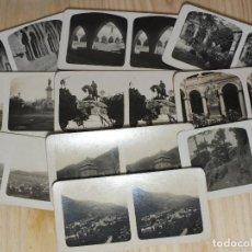 Fotografía antigua: FOTOGRAFÍAS ESTEREOSCÓPICAS - ESPAÑA - 10 UNIDADES. Lote 195291061