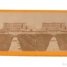 Fotografía antigua: MADRID.- PALACIO REAL.. Lote 195946776