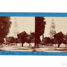 Fotografía antigua: CÓRDOBA.- TORRE DE LA CATEDRAL.- J. LAURENT.. Lote 196072581