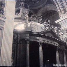 Fotografía antigua: ZARAGOZA NEGATIVO CRISTAL ESTEREOSCOPICO. Lote 197390262