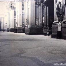 Fotografía antigua: ZARAGOZA NEGATIVO CRISTAL ESTEREOSCOPICO. Lote 197390282