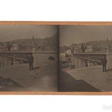 Fotografía antigua: VIADUCTO DE CANALEJAS. FOTO. E. JORDÁ BLANES. ALCOY.. Lote 197429215