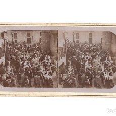 Fotografía antigua: FIESTA MOROS Y CRISTIANOS. FOTO. E. JORDÁ BLANES. ALCOY.. Lote 197429432