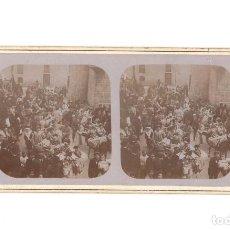 Fotografía antigua: FIESTA MOROS Y CRISTIANOS. FOTO. E. JORDÁ BLANES. ALCOY.. Lote 197429550