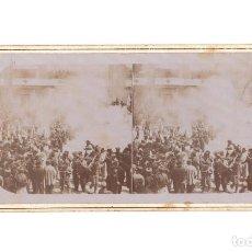 Fotografía antigua: FIESTA MOROS Y CRISTIANOS. FOTO. E. JORDÁ BLANES. ALCOY.. Lote 197429723