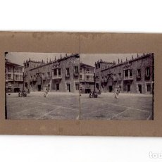 Fotografía antigua: BURGOS.- EL PALACIO DE LOS CONDESTABLES DE CASTILLA O CASA DEL CORDÓN. PLAZA DE LA LIBERTAD.. Lote 197435666