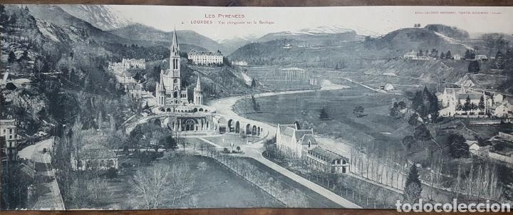 GRAN FOTOTIPO LOURDES BASILICA 1924 W (Fotografía Antigua - Estereoscópicas)