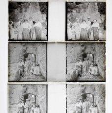 Fotografía antigua: CATALUÑA, 1920'S. LOCALIZACIÓN DESCONCIDA. 4 CRISTALES POSITIVOS ESTEREO 4X10 CM.. Lote 199187408