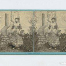 Fotografía antigua: CANTON DE TESSIN. SUISSE - FOTO: A. BRAUN. ALBÚMINA 8,5X17,5 CM.. Lote 199257167