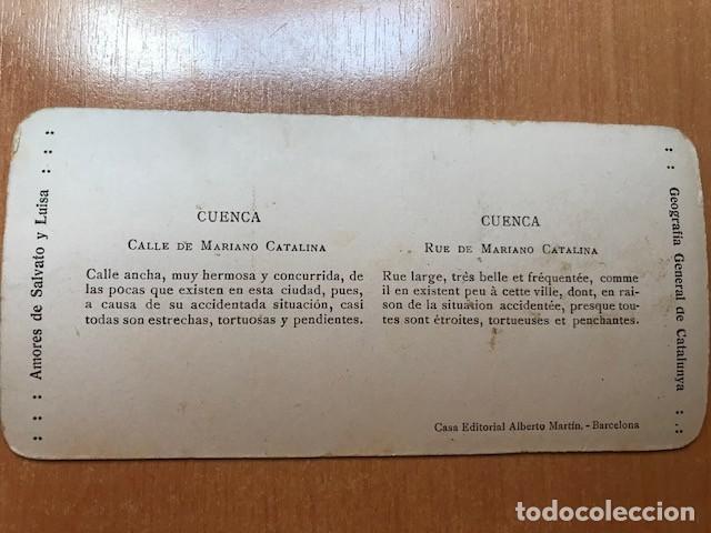 Fotografía antigua: CUENCA. EDITORIAL ALBERTO MARTIN- NUM 5. CALLE MARIANO CATALINA - Foto 2 - 199624698