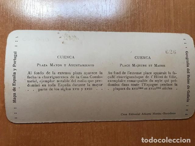 Fotografía antigua: CUENCA. EDITORIAL ALBERTO MARTIN- NUM 6. PLAZA MAYOR Y AYUNTAMIENTO - Foto 2 - 199624761