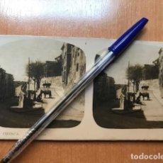 Fotografía antigua: CUENCA. EDITORIAL ALBERTO MARTIN- NUM 7. CALLES TIPICAS. Lote 199624821
