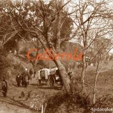 Fotografía antigua: COLLSEROLA - FESTA DE SANT ANTONI - 1904 - NEGATIU DE VIDRE . Lote 202028310