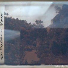 Fotografía antigua: LA PUDA PONT (BARCELONA) MONTSERRAT - 1930'S - NEGATIVO DE VIDRIO 4,5 X 10,5 CM (APROX). Lote 202633962