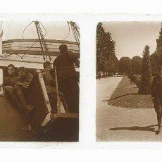 Fotografía antigua: TRANSPORTE DE SOLDADOS. PUERTO DE BARCELONA. BUQUE GUILLEM SOROLLA. SOLDADOS. C.1922. Lote 203238055