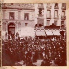 Fotografía antigua: MADRID.- CALLE ALCALÁ.. Lote 203971887