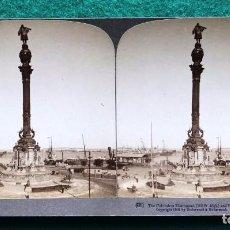 Fotografía antigua: FOTOGRAFÍA ESTEREOSCÓPICA DE BARCELONA. 1902 UNDERWOOD. Lote 204174066