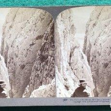 Fotografía antigua: FOTOGRAFÍA ESTEREOSCÓPICA DE MÁLAGA. 1902 UNDERWOOD. Lote 204174331