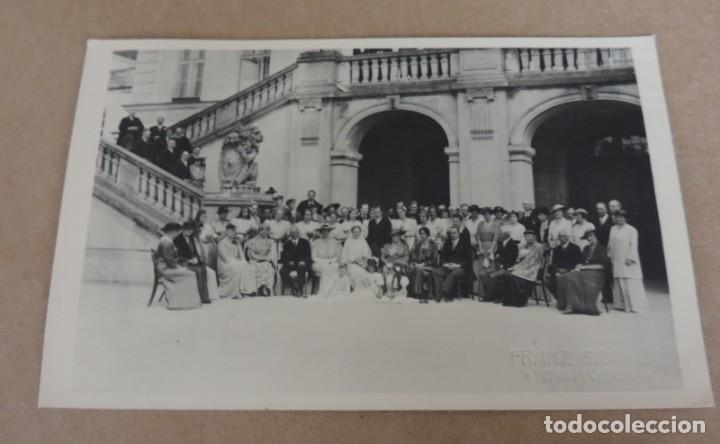 FOTOGRAFIA DE BODA EUROPEA DONDE ESTABA INVITADO DON FERNANDO MARIA BAVIERA Y DE BORBON, ESTA SITUAD (Fotografía Antigua - Estereoscópicas)