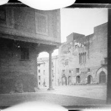Fotografía antigua: PLACA ESTEREOSCÓPICA EN NEGATIVO TARRAGONA? SOBRE 1920. Lote 204764041
