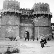 Fotografía antigua: PLACA ESTEREOSCÓPICA CRISTAL EN NEGATIVO SOBRE EL 1910-20 VALENCIA. Lote 205129470
