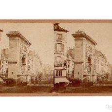 Fotografía antigua: PARIS.- PUERTA DE SAN DENIS.. Lote 205659625