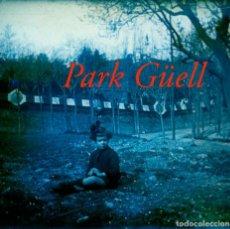 Fotografía antigua: PARK GÜELL - 1920'S - POSITIU DE VIDRE. Lote 206888353