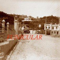 Fotografía antigua: FUNICULAR DE VALLVIDRERA - NEGATIVO DE VIDRIO - 1920'S. Lote 206935997
