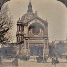 Fotografía antigua: 02502 CHURCH OF ST. AUGUSTINE, PARÍS (FRANCIA) AÑO 1908 - UNITED PHOTOGRAPHIC COMPANY N.Y.. Lote 207316426