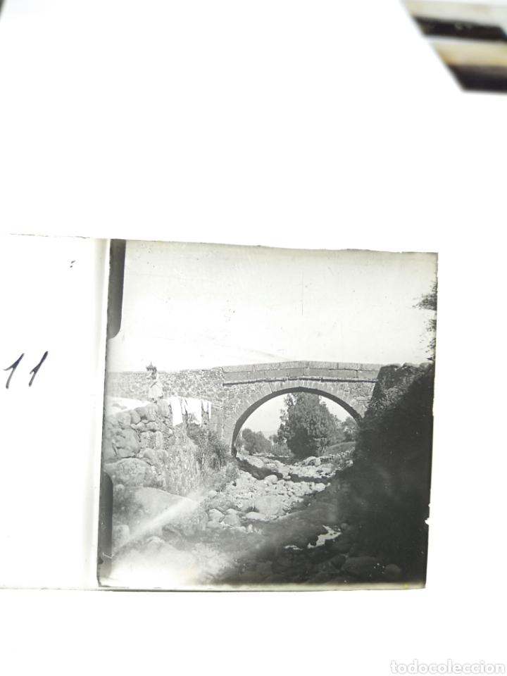 PLACA ESTEREOSCOPICA EN POSITIVO. PARAJE A IDENTIFICAR 1920. (Fotografía Antigua - Estereoscópicas)