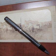 Fotografía antigua: SAN FELIU RECTORÍA, FOTO MUY ANTIGUA,S. MIGUEL DEL FAY.. Lote 210355412