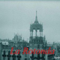 Fotografía antigua: MODERNISMO - BARCELONA - LA ROTONDA - 1940'S - NEGATIVO DE ACETATO. Lote 210374048