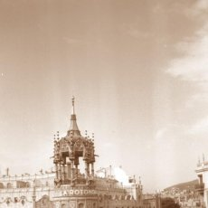 Fotografía antigua: MODERNISMO - BARCELONA - LA ROTONDA - 1940'S - NEGATIVO DE ACETATO. Lote 210374110