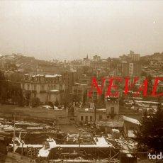 Fotografía antigua: NEVADA - VALLCARCA - BARCELONA - 1940'S - NEGATIVO DE ACETATO. Lote 210374672
