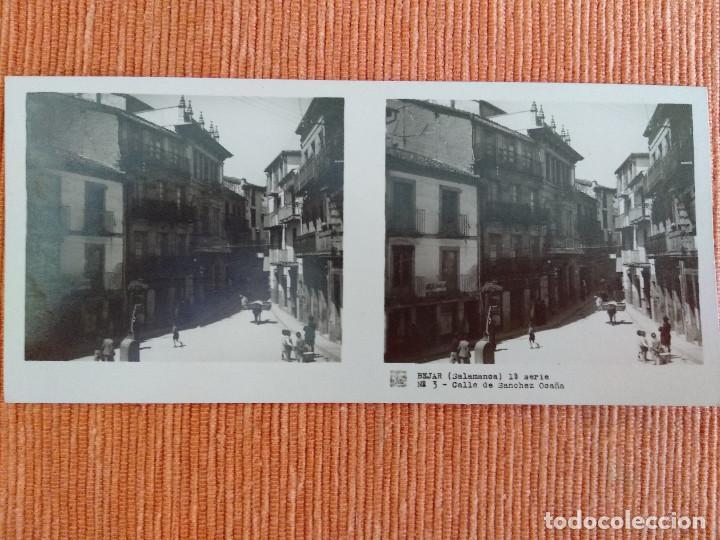 Fotografía antigua: 15 VISTAS ESTEREOSCÓPICAS BÉJAR SALAMANCA, 1ª SERIE. Colección nº151 - Foto 4 - 210594221